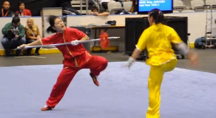 Rimarrete RAPITI da queste due donne che fanno arti marziali. Pazzesche.