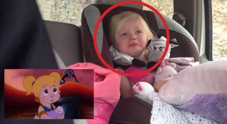 Non riuscirete a staccare gli occhi dal viso di questa bambina. Provare per credere.