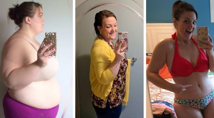 Interrompe una relazione malsana e perde quasi 100 Kg: le foto della sua trasformazione verso il benessere