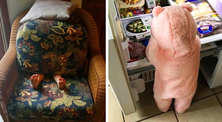 16 fotos de crianças criativas que receberam mais do que um sorriso dos pais