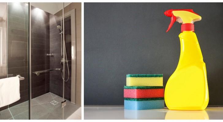 Il metodo super-efficace per pulire al meglio i vetri del box doccia