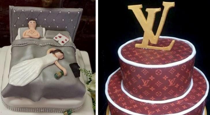 15 tortas nupciales que se han hecho notar por su extravagancia y absurdidad
