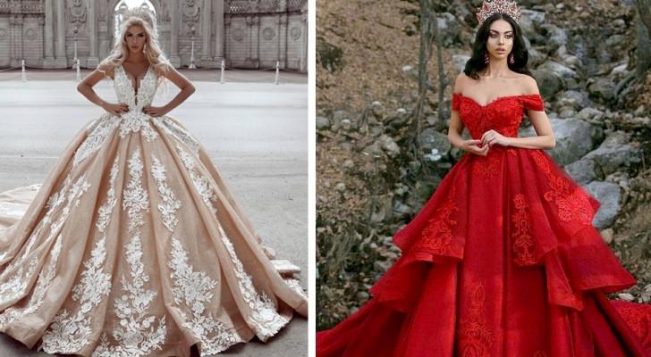 15 vestidos nupciales que han sabido transformar a las novias en princesas de cuentos