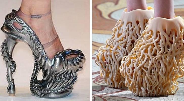 18 chaussures d'une beauté douteuse que certains ont pourtant eu le courage de porter
