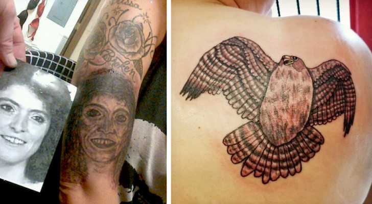 15 tatuajes tan feos que los autores deberían inmediatamente cambiar de oficio