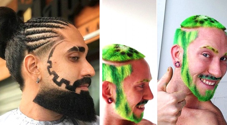21 people who decided to ask their hairdressers for rather strange haircuts