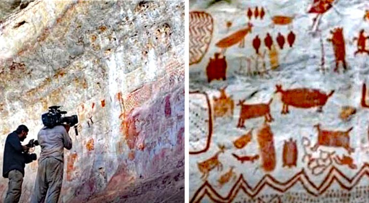 Im Amazonasgebiet wurden tausende von Malereien entdeckt, die auf 12.500 Jahre zurück gehen: Es ist die
