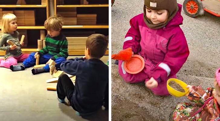 In Dänemark wird den Kindern im Kindergarten nur das Alphabet beigebracht: die übrige Zeit wird dem Spiel überlassen