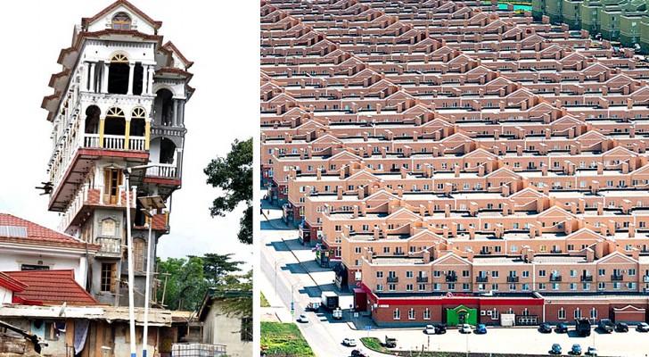18 Architekten, die Gebäude entworfen haben, die so absurd sind, dass sie aus apokalyptischen Szenen herauszukommen scheinen