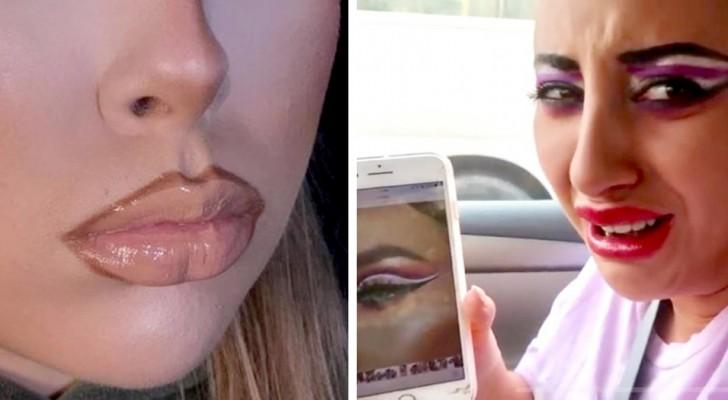 15 personnes qui ont exagéré avec le maquillage et ont créé de véritables chefs-d'œuvre de l'horreur