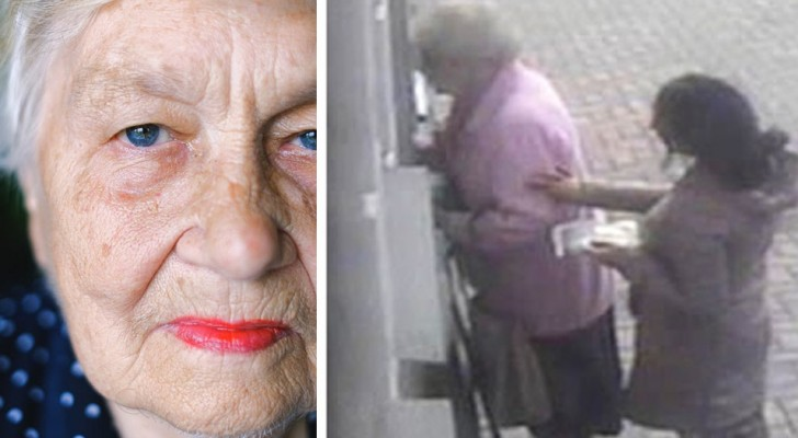 A grandmother puts the thief who tried to rob her at an ATM on the run: You're not having my money, I earned it!