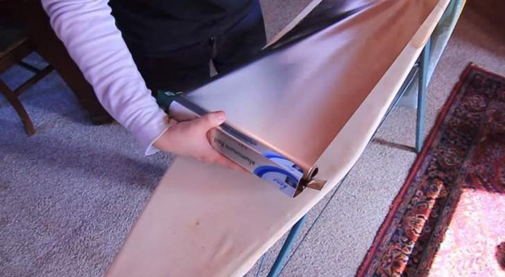 Aqui 6 TRUCOS para usar la hoja de aluminio en manera util y creativa.