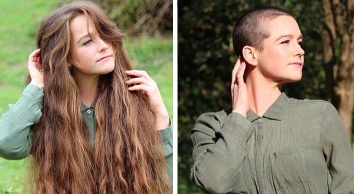 20 donne che hanno scelto di fare a meno dei capelli mostrando soddisfatte la loro