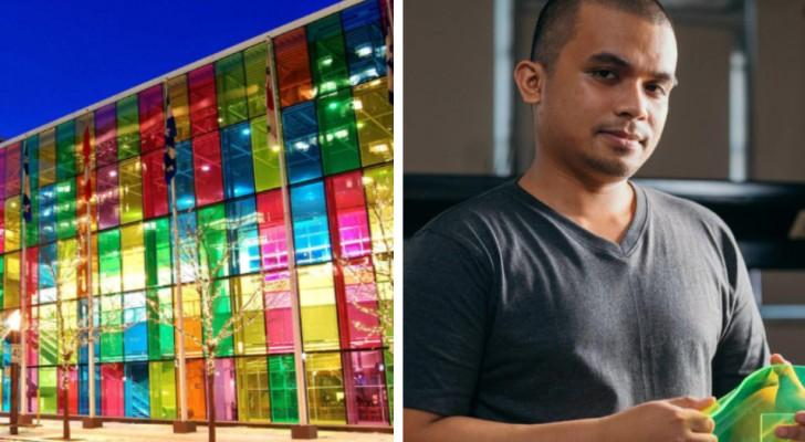 Questo studente ricicla gli scarti di cibo per produrre delle finestre fotosensibili: un modo per rinnovare l'energia solare