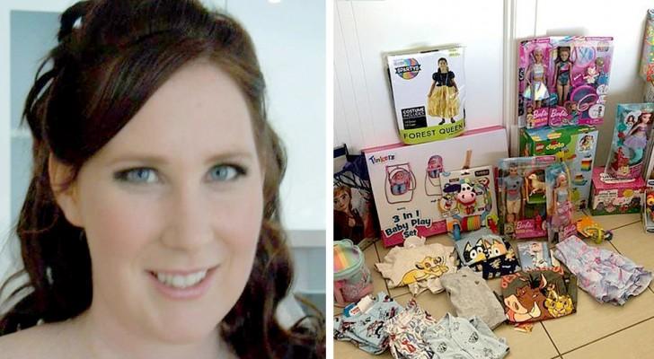 Eine Mutter gibt mehr als 1.000 Dollar für die Geschenke ihrer Tochter aus und fast nichts für ihren Sohn: eine viel kritisierte Entscheidung