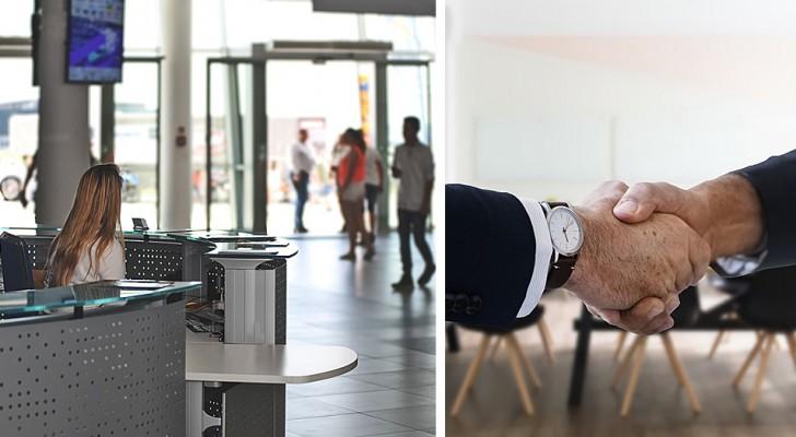 Un homme rate son entretien d'embauche sans même l'avoir commencé : trahi par la réceptionniste