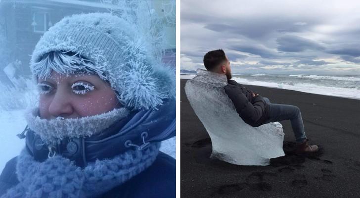 15 Bilder zeigen Ihnen, wozu Kälte fähig ist, wenn die Temperaturen unter den Gefrierpunkt fallen