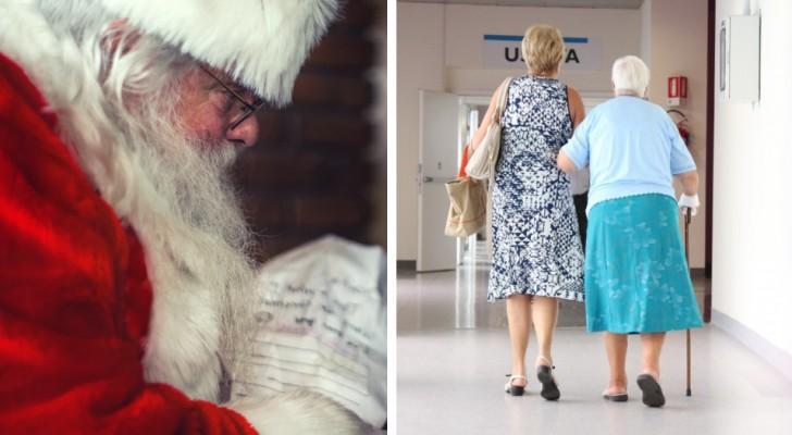 Babbo Natale volontario positivo al Covid entra in casa di riposo e contagia 75 ospiti