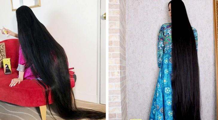 Uma mulher de 20 anos optou por não cortar mais o cabelo: agora ela é chamada de Rapunzel do Japão