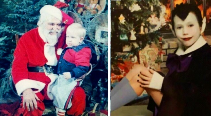 17 strange family photos from past Christmases that we wish we hadn't seen