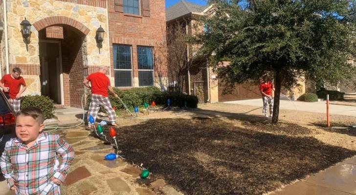 Zwölfjähriger bekommt eine Lupe zu Weihnachten und zündet seinen Vorgarten an