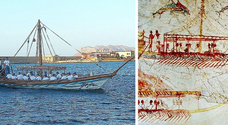 I Minoici costruivano le loro navi con tecnologie avanzatissime: oggi sarebbero come dei super-yacht
