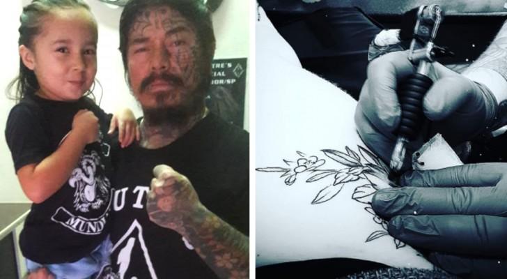 """Ein Vater """"vom alten Schlag"""" weigert sich, den Verlobten seiner Tochter zu treffen, nur weil der ein Tattoo hat"""