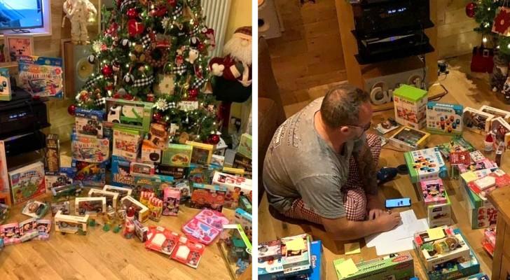 Um empresário generoso compra todos os brinquedos de uma loja para dar às crianças mais carentes de seu bairro