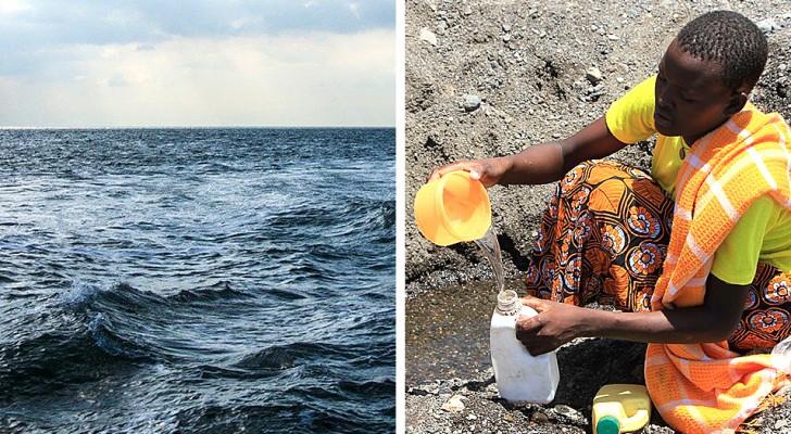 Dankzij zonne-energie kan een onderzoeksteam zeewater in slechts 30 minuten drinkbaar maken