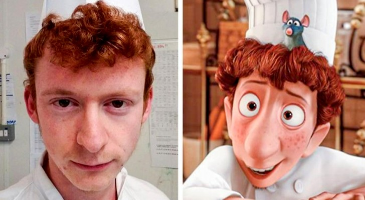 15 people who uncannily resemble characters from cinema and TV