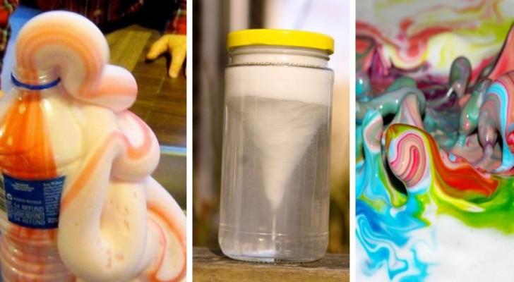 5 expériences scientifiques amusantes à tester à la maison pour observer de nombreux phénomènes avec vos enfants