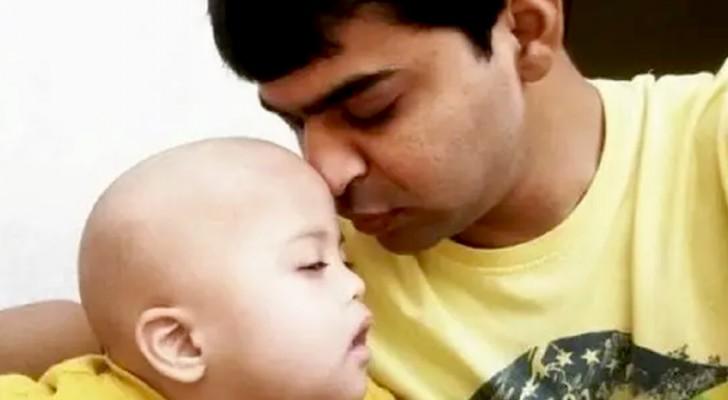 Um pai solo cuida de uma criança com síndrome de Down que ninguém quis adotar