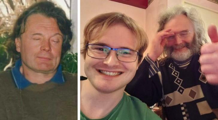 Ein junger Mann findet am Weihnachtstag endlich seinen Vater wieder: Er hatte ihn seit mehr als 10 Jahren nicht gesehen