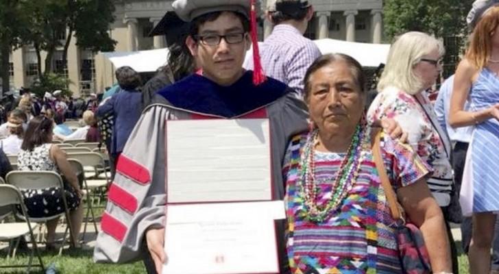 Hij verkocht groente en fruit om zijn studie te betalen: nu is hij erin geslaagd om cum laude af te studeren
