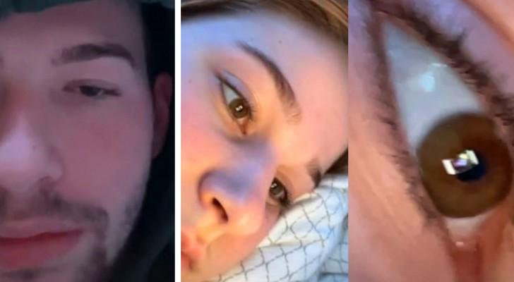 Un garçon découvre que sa petite amie le trompe grâce au reflet du smartphone : elle était sur Tinder