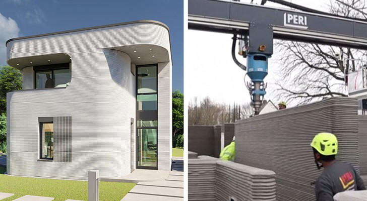 Costruita in Germania la prima casa grazie alla stampa 3D: assicura flessibilità, velocità e riduzione degli scarti