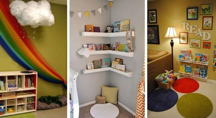 8 propositions charmantes pour meubler un coin de lecture magique dans la chambre des enfants