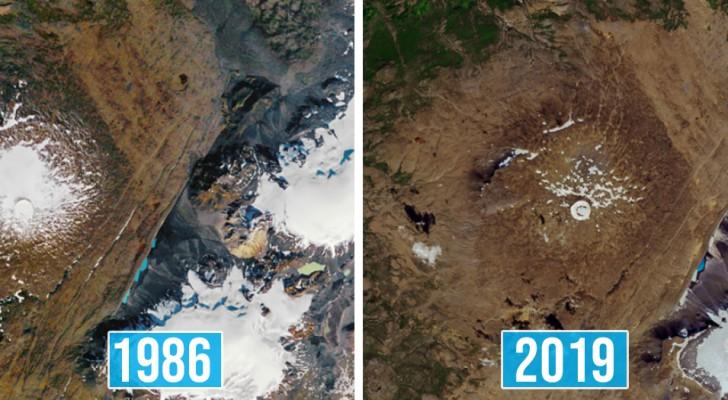 12 NASA-afbeeldingen beschrijven de verwoestende effecten van klimaatverandering beter dan duizend woorden