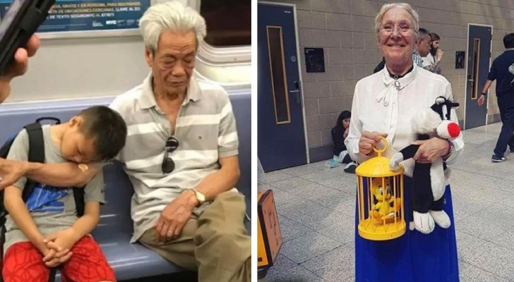 17 Großeltern, die mit ihren kleinen Gesten eine bedingungslose Liebe zu ihren Enkelkindern offenbart haben