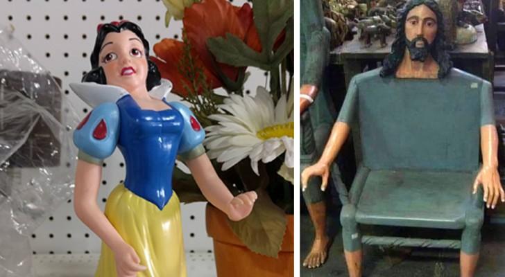 18 van de grappigste en meest extravagante items die mensen op rommelmarkten hebben gevonden