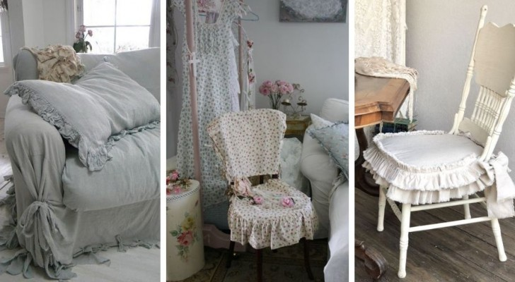 11 idée dont s'inspirer pour décorer des chaises, canapés et fauteuils dans un parfait style shabby chic