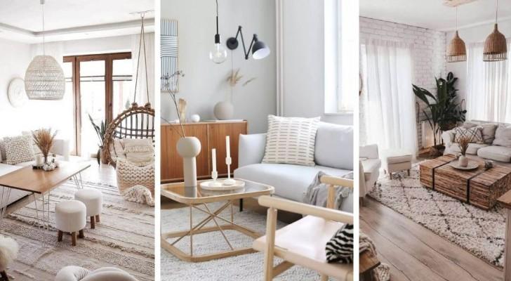 Le dritte più utili per arredare il vostro salotto in perfetto stile scandinavo
