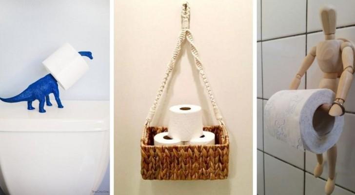 10 brillantes astuces DIY pour créer des porte-rouleaux de papier toilette au design original