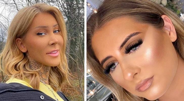 16 derart misslungene Make-up-Experimente, dass sie einen Hässlichkeitspreis gewinnen sollten