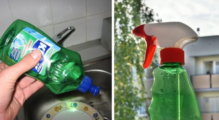 5 utilisations alternatives du liquide vaisselle à utiliser dans vos tâches domestiques