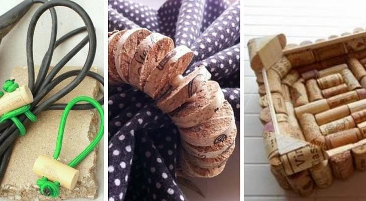 10 projets super-imaginatifs pour recycler les bouchons de liège avec créativité
