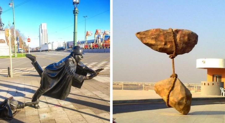 15 sculture sfidano la forza di gravità e hanno il potere di lasciarci con il fiato sospeso
