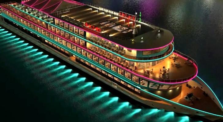 Dit elektrische schip uit China is het grootste emissievrije cruiseschip ooit gebouwd