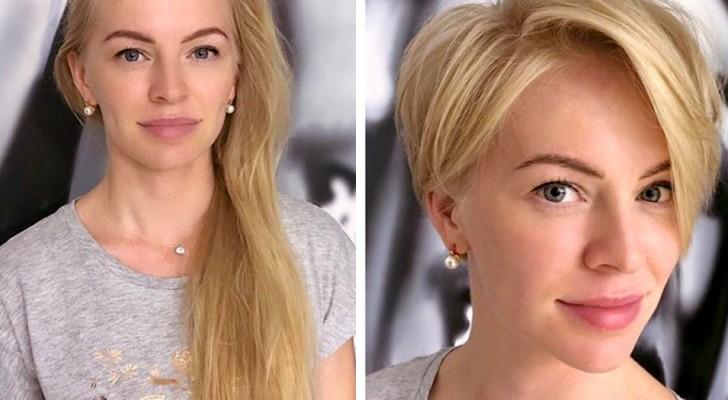 Eine talentierte Friseurin zeigt, wie befreiend es sein kann, sich die Haare auf drastische Weise abzuschneiden