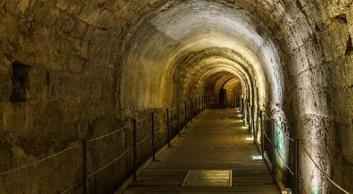 Na 700 jaar werd de Tempeliers tunnel herontdekt: de ridders zouden hem hebben gebruikt om hun schatten te verplaatsen